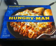Like the rest of you, sometimes I am a HUNGRY MAN.  So why wouldn&#039;t I want 1 pound of food?  So I say to you, lasagna...IMPRESS ME.