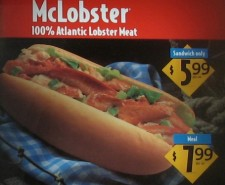 Celebrate 200 Tasty Lies with the creepiest thing you might ever see, McDonald's McLobster!  And a bonus Filet O Fish Review!