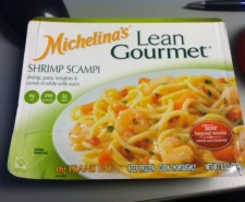 So we've covered many Lean Gourmet and Michelina's meals on this site, and we've also had a review of shrimp scampi on the site.  Unfortunately this meal will probably be weighed against it.  It's unfortunate because it's one of the...