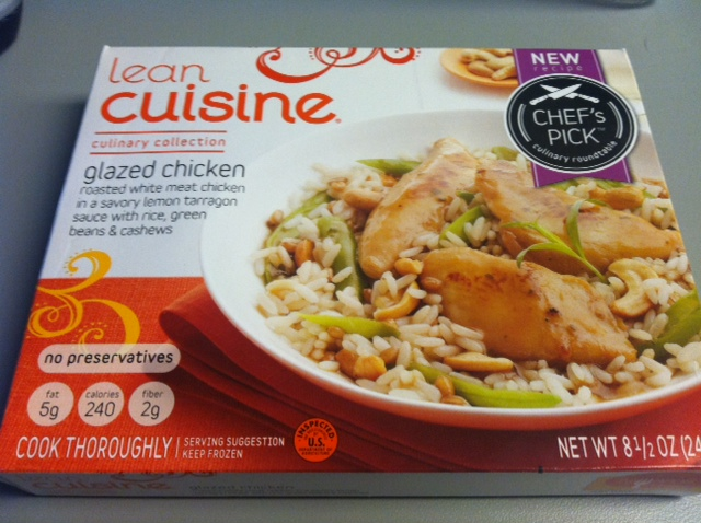 Lean cuisine glazed chicken tasty lies frozen meal reviews for Are lean cuisine meals good for you