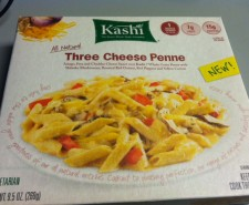 Christen reviews Kashi's Three Cheese Penna meal.  It's Classy Macaroni and Cheese!