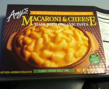 Today we get knee deep in Macaroni And Cheese as we reviews Amy&#039;s version of the classic dish.  Organic?  Check.  Vegetarian?  Check.  Tasty?  Find out.