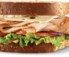 Arby's Roasted Turkey & Swiss Market Fresh Sandwich goes under the microscope as we compare the ad to the actual product!  And it's all up to Christen!