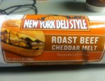 Today we review the Roast Beef Cheddar Melt sandwich from Raybern Foods!  It's roast beef and cheddar in a sandwich?  How can it go wrong?!  Well...