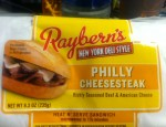 Today we say goodbye to one of our reviewers and say hello to the Philly Cheesesteak Sandwich from Raybern foods!