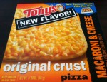 Today we review a marvel of pizza technology.  Macaroni and Cheese pizza has come to the frozen aisle, care of Tony's.  Is it worth your time?