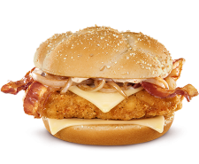 Today we review the Crispy Chicken CBO Sandwich from McDonald&#039;s.  Will Cheddar, Bacon, and Onion make everything better?
