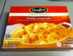 Today we review the Cheddar Potato Bake from Stouffer's.  How can you go wrong with potatoes, cheese and bacon?  You probably can't.